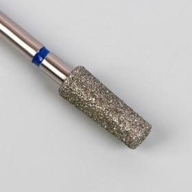 Фреза алмазная для маникюра «Конус усечённый», средняя зернистость, 35 × 10 мм