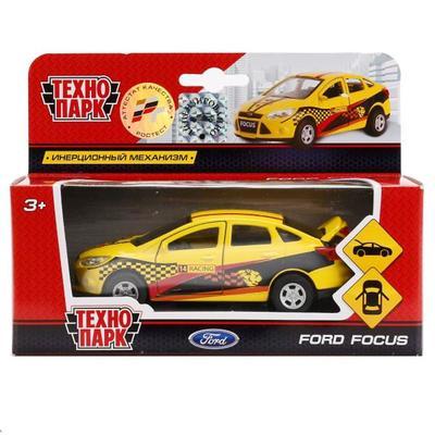 Машина металлическая инерционная «Ford Focus спорт», 12 см - Фото 1