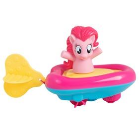 Игровой набор для ванны «Мой маленький пони. Пинки Пай» в заводной лодочке