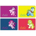 Альбом для рисования А4, 8 листов «Маленькие лошадки», картон хром-эрзац, блок 100 г/м2, МИКС