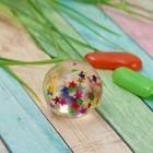 Мяч каучуковый «Звёзды», 3,2 см - Фото 1