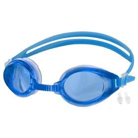 Очки для плавания + беруши, цвета МИКС Ош
