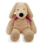 Мягкая игрушка «Собака», цвет бежевый/фиолетовый, 40 см