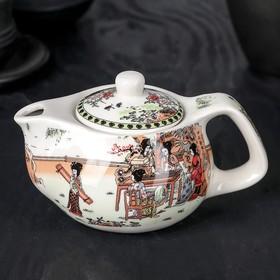 """Чайник заварочный 200 мл """"Парк"""", с металлическим ситом"""