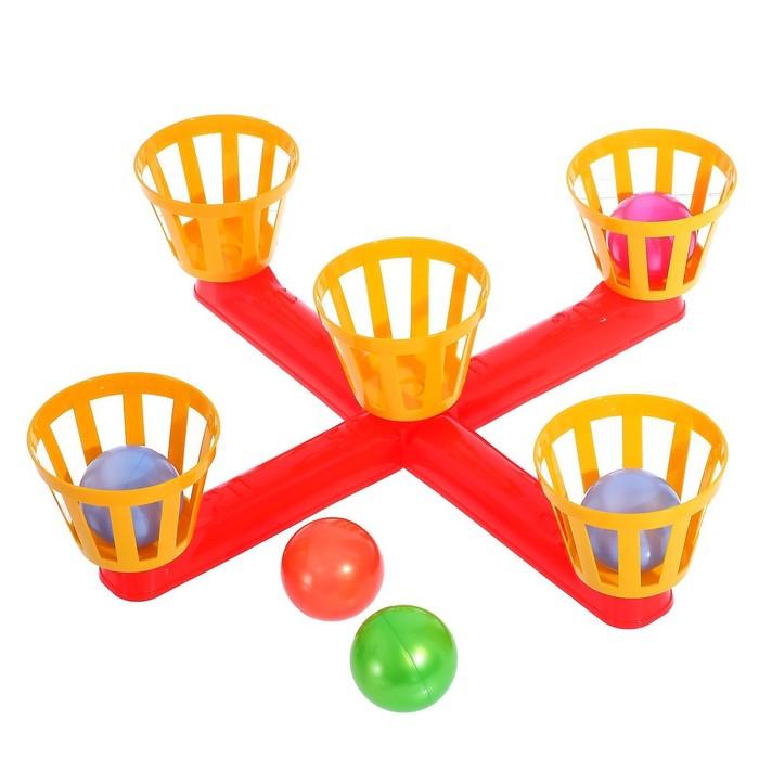 Напольная игра «Веселый баскетбол»