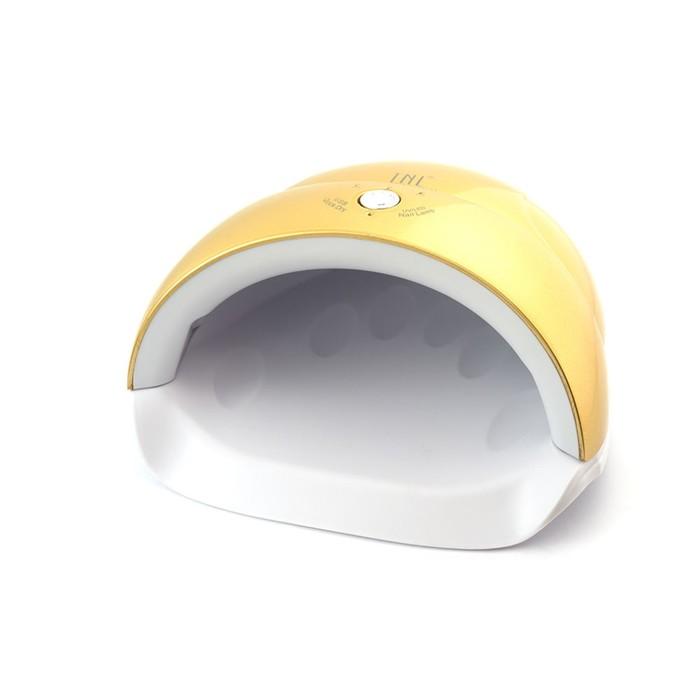 Лампа для гель-лака TNL Quick, UV/LED, 24 Вт, 5 диодов, таймер 30/60/90 сек, цвет золото