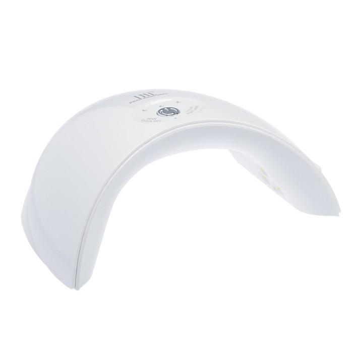 Лампа для гель-лака TNL Mood, UV/LED, 36 Вт, 12 диодов, таймер 30/60/90 с, белая
