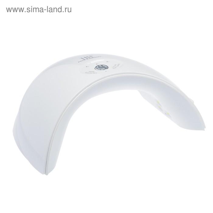 Лампа для гель-лака TNL Mood, 12 UV/LED диодов, 36 Вт, таймер 30/60/90 сек, белая