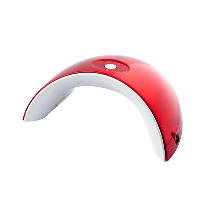 Лампа для гель-лака TNL Mood, UV/LED, 36 Вт, 12 диодов, таймер 30/60/90 с, красная