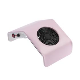 Пылесос для маникюра TNL DC800, 30 Вт, 2500 об/мин, 1 фильтр, розовый Ош