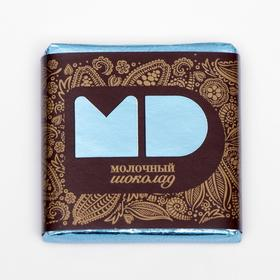 Шоколад в плитках, молочный, 5 г / 96 шт