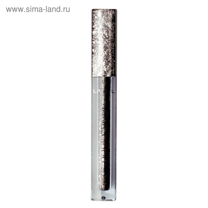 Жидкие тени-глиттер для век Lamel Professional, тон 02 Silver