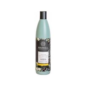 Шампунь Markell Green Сollection «Укрепление», с маслом оливы и миндаля, 500 мл