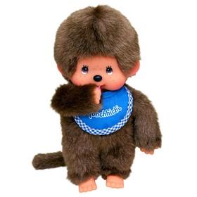 Мягкая игрушка «Мончичи Мальчик» в синем слюнявчике», 20 см