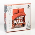 Постельное бельё Этель «Баскетбол», 2-сп., 175 × 215 см, 200 × 220 см, 70 × 70 см (2 шт.), хлопок 100 % - Фото 6