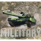 Постельное бельё Этель Military, 2-сп., 175 × 215 см, 200 × 220 см, 70 × 70 см (2 шт.) - Фото 3