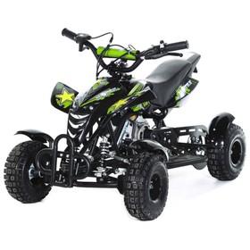 Мини-квадроцикл MOTAX ATV H4 mini-50 cc, черно-зеленый Ош