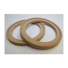 Проставочные кольца, MDF с утоплением, для динамика 16.5 см, набор 2 шт Ош