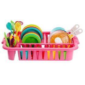 Набор посуды «Ириска 5», цвета МИКС