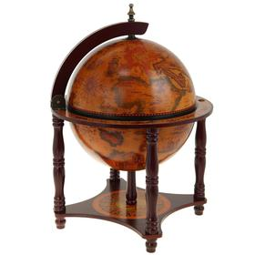 Глобус-бар декоративный, на подставке 'Принц' Ош