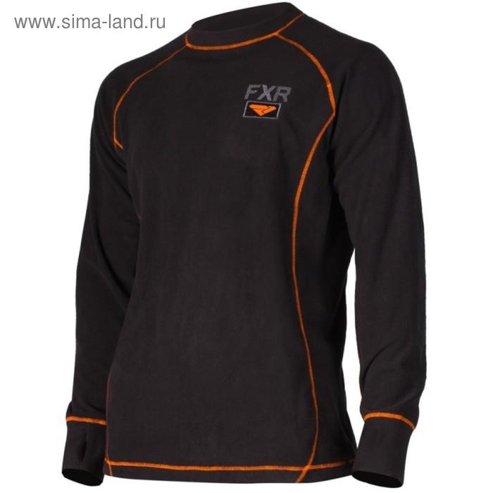 Термокофта мужская Fxr Pyro Thermal, 181323-1030, L, Black/orange