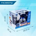 Интерактивная собака-робот «Чаппи», русское озвучивание, световые и звуковые эффекты, цвет синий - Фото 6
