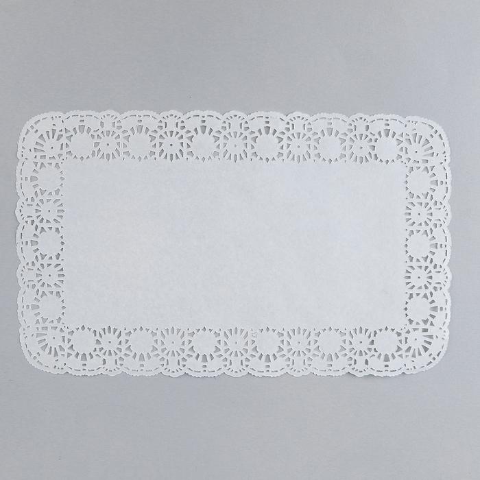 Салфетка для торта прямоугольная, 18 х 30см 250/2000