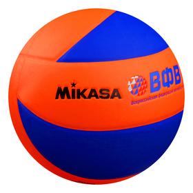 Мяч волейбольный MIKASA MVA380K-OBL, размер 5, PVC, клееный