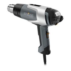 Фен технический Steinel HG 2320 E 351502, 2300Вт, 80-650 °C, 150-500 л/мин, ЖК-дисплей, кейс   41029