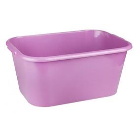 Таз прямоугольный 'Феликс', 30 л, 52 x 36,5 x 23,5 см, фиолетовый Ош