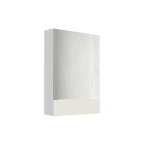 Зеркало Соната 60  1д. Белый глянец