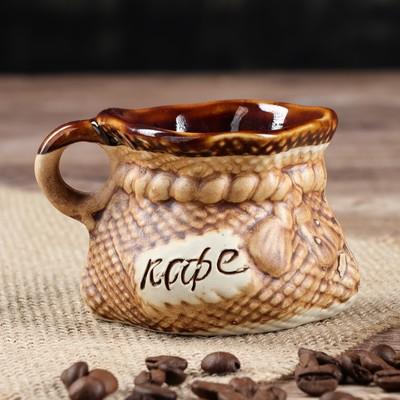 "Чашка ""Кофе"", 100 мл - Фото 1"