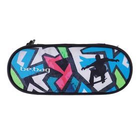 Пенал мягкий футляр, ткань, 60 х 215 х 90, Herlitz Be.bag Airgo, для мальчика, Skater