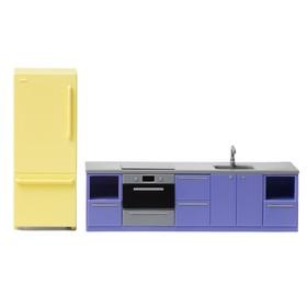 Мебель для кукольного домика «Базовый набор для кухни»
