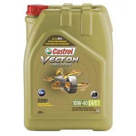 Масло моторное Castrol Vecton Long Drain 10W-40 E7, 20 л