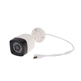 Видеокамера уличная Progressive Scan, AHD, 2.1 Мп, 1080 Р, объектив 3.6 мм, пластик Ош