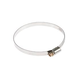 Хомут червячный TUNDRA krep W2, диаметр 80-100 мм, ширина 9 мм, нержавеющая сталь Ош