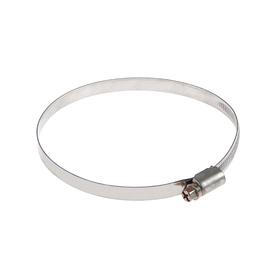 Хомут червячный TUNDRA krep W2, диаметр 90-110 мм, ширина 9 мм, нержавеющая сталь