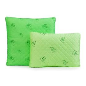 Подушка Бамбук ультрастеп 50х70 см, полиэфирное волокно, п/э 100%