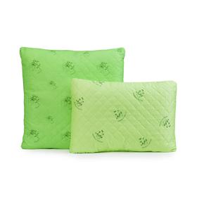 Подушка Бамбук ультрастеп 70х70 см, полиэфирное волокно, п/э 100%