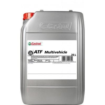 Масло трансмиссионное Castrol ATF Multivehicle, 20 л