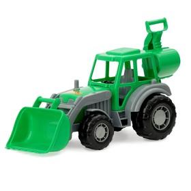 Трактор-экскаватор «Мастер», цвета МИКС