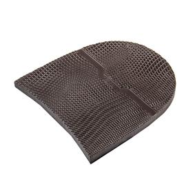 Набойка Walkbase, толщина 7 мм, размер 4, коричневая Ош