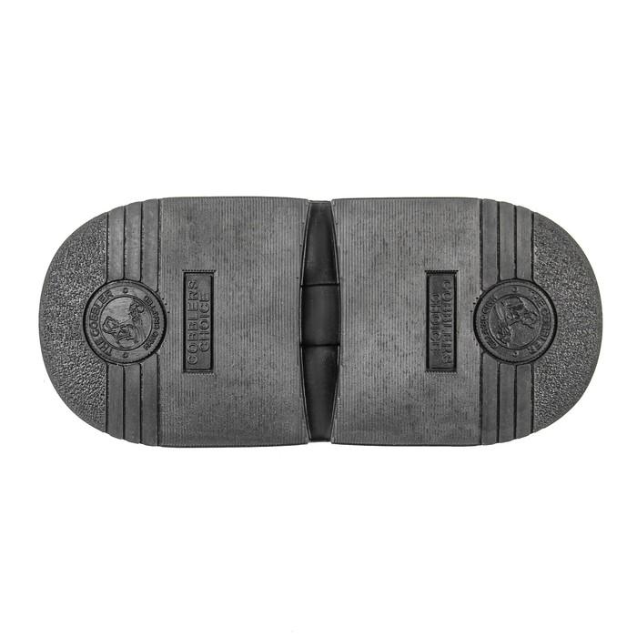 Набойка Cobblers, толщина 7 мм, размер 70, чёрная