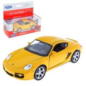 Машина Porsche Cayman, масштаб 1:34 - 39, цвета МИКС