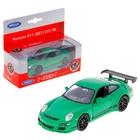 Машина Porsche 911 GT3, масштаб 1:34-39, цвета МИКС