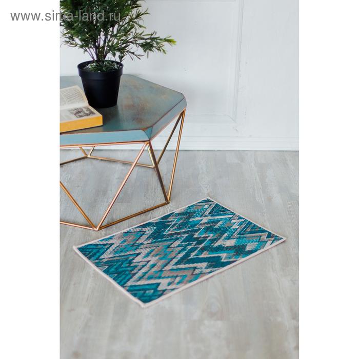 Коврик для дома «Геометрия», 40×69 см