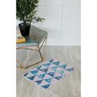 Коврик для дома «Треугольники», 40×69 см