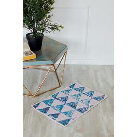 Коврик для дома «Треугольники», 40×69 см Ош