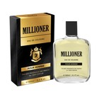 Одеколон Eau De Cologne Millioner, 100 мл (без спрея)
